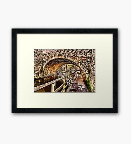 Bridge No.2 at Skipton Framed Print