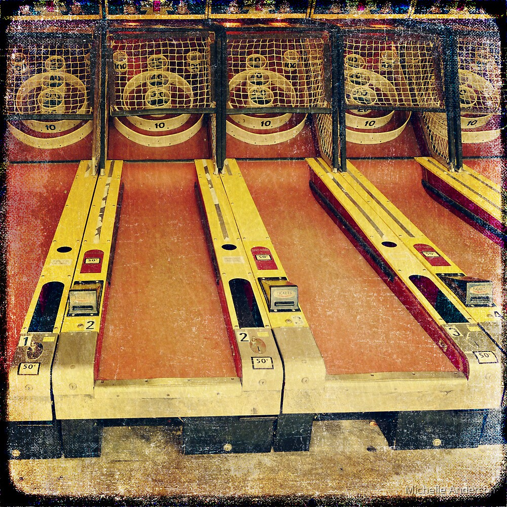 Skeet ball by Michelle Anderson
