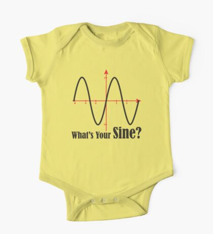 What's Your Sine? Kids Clothes