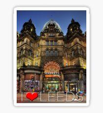 Leeds Markets Sticker