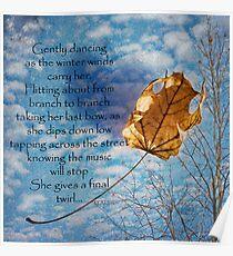 Gently Dancing Poster