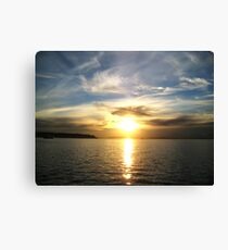 To Blake Island Canvas Print
