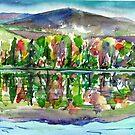 Foliage Reflection by mleboeuf
