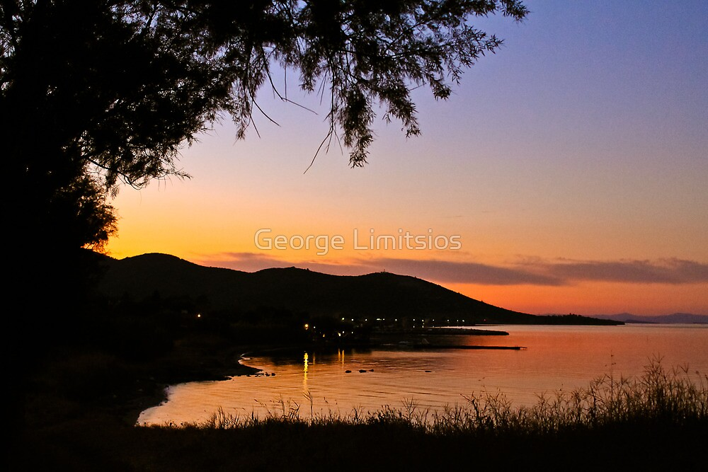 Little harbor - Lesvos, Greece by George Limitsios