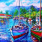 Afternoon Reflections Kaneohe Bay  by jyruff