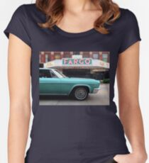 1966 Chevrolet Impala SS Women's Fitted Scoop T-Shirt