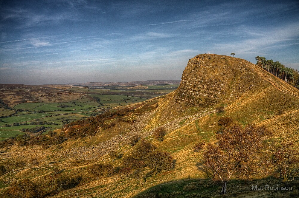 Back Tor, The Peak District by Mat Robinson