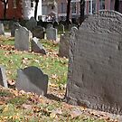 Old Granary Burying Ground, Boston by Kerry Dunstone