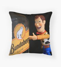 Woody's source of happiness. Throw Pillow