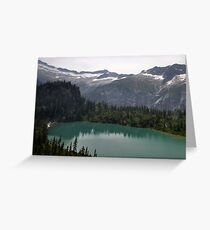 Mountain Landscape 17 Canada  Greeting Card