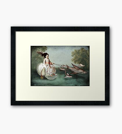 On the waterfront Framed Print