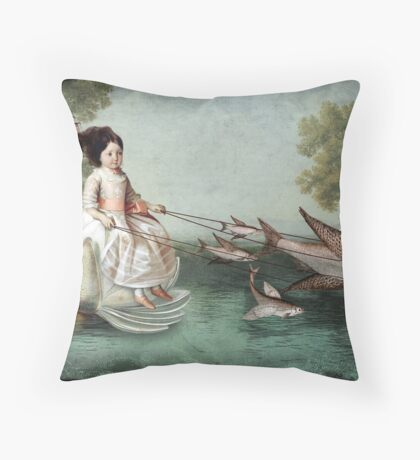 On the waterfront Throw Pillow