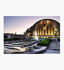 Union Terminal, Cincinnati Ohio Photographic Print