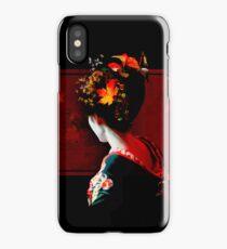 Autumn Geisha iPhone Case/Skin