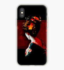 Autumn Geisha iPhone Case