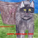 Christmas Cat by Bearie23