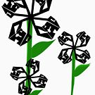 Technical Flowers by Cranemann