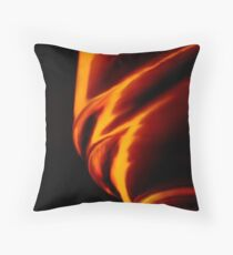 Tornadic Inferno Throw Pillow
