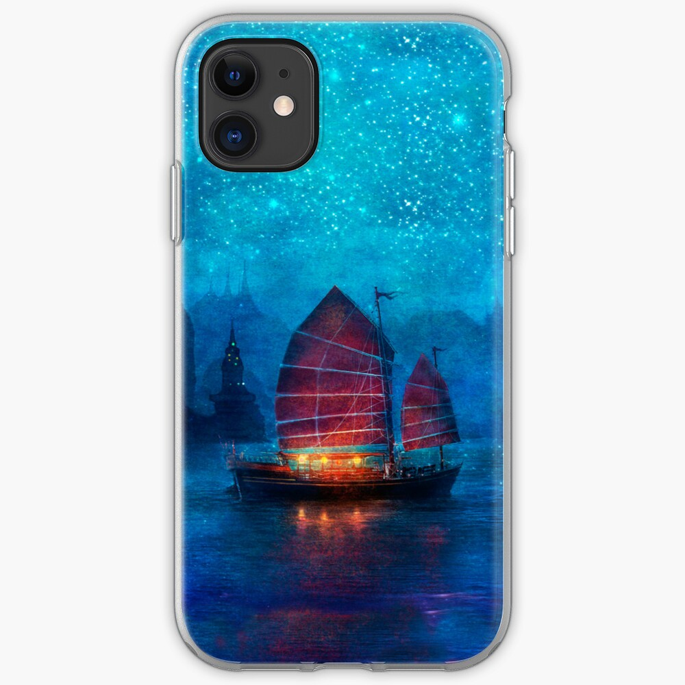 Secret Harbor, horizontal iPhone Soft Case