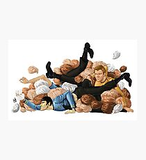 Laocoon orgy of tribbles Photographic Print