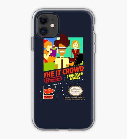 El juego IT Crowd NES | carcasa de Iphone Vinilo o funda para iPhone