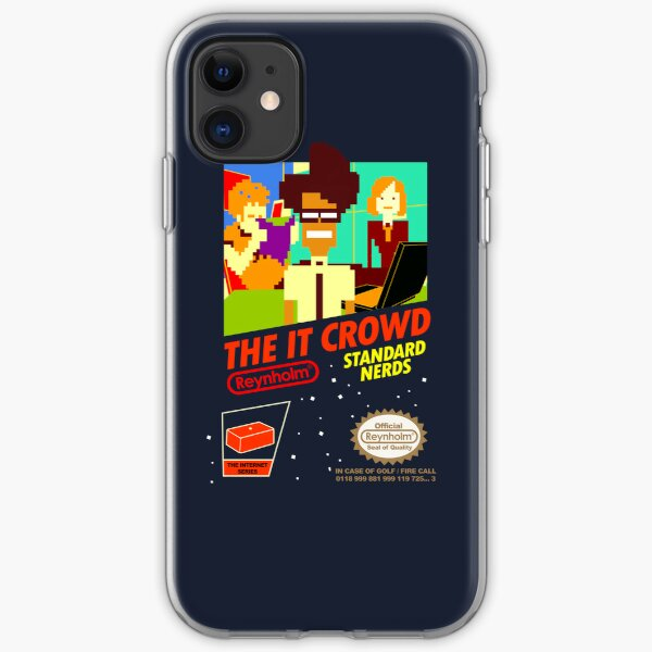 The IT Crowd NES game | iPhone Case iPhone Soft Case