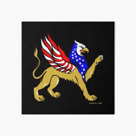 American Griffin Art Board Print