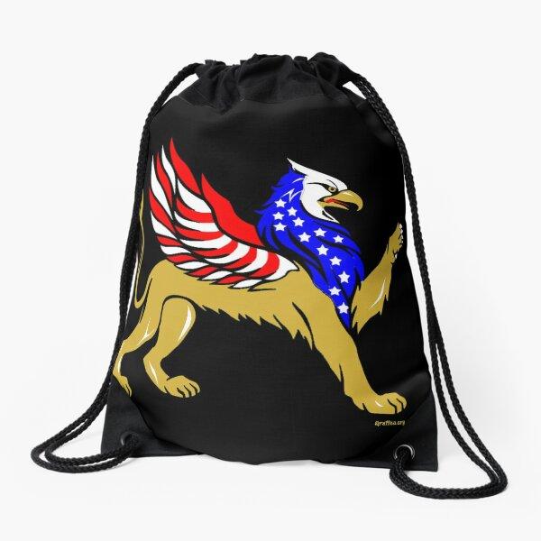 American Griffin Drawstring Bag
