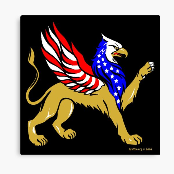 American Griffin Canvas Print