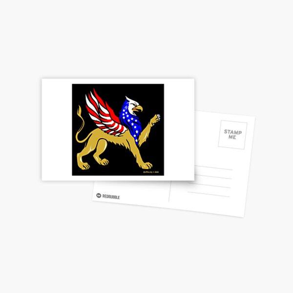 American Griffin Postcard