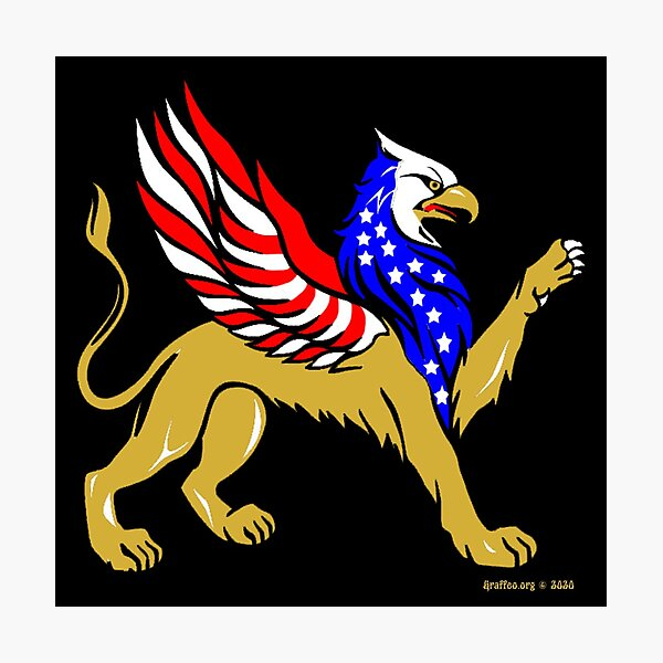 American Griffin Photographic Print