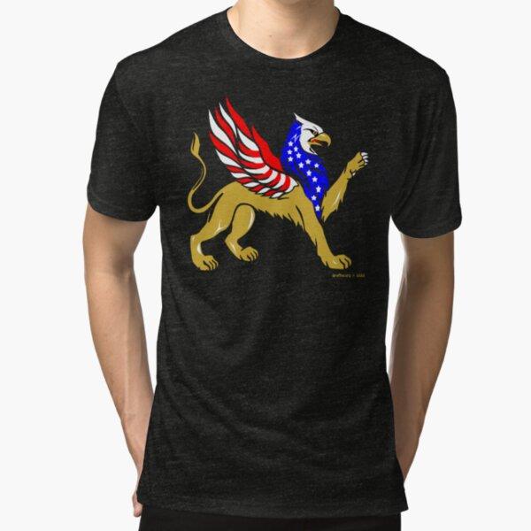 American Griffin Tri-blend T-Shirt