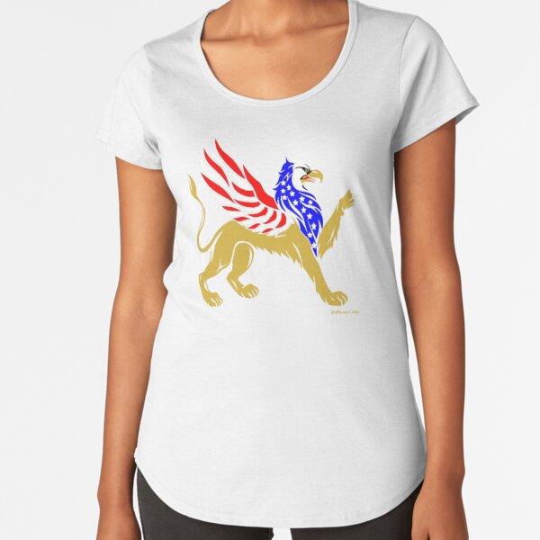 American Griffin Premium Scoop T-Shirt