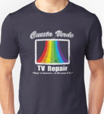 Cuesta Verde TV Repair Unisex T-Shirt