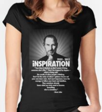 iNSPIRATION... Women's Fitted Scoop T-Shirt