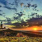 Sunset at Vlamingh Point by Peter Doré