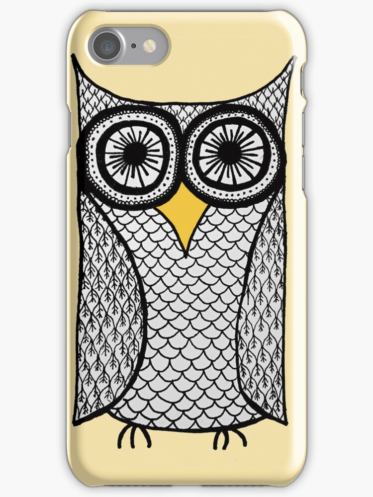 iPhone Owl <3 by eleveneleven