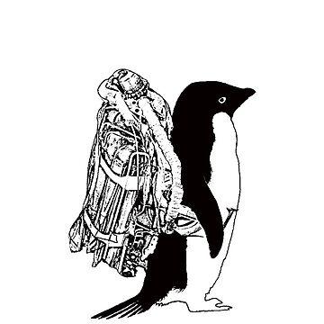 Jet Pack Penguin by Jordan