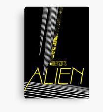 Alien Canvas Print