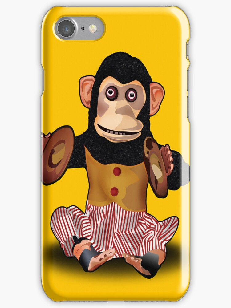 Chimp I Phone Case by Octavio Velazquez