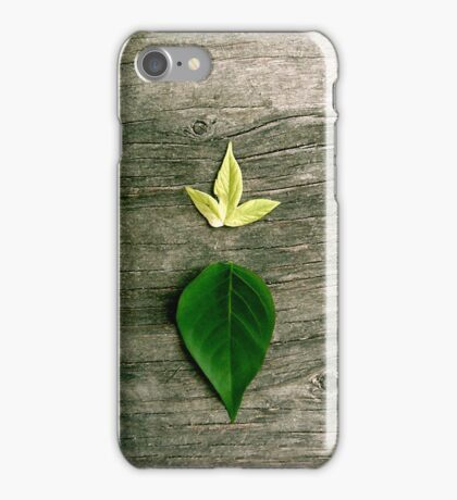 iPhone Leaves iPhone Case/Skin