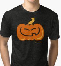 Asian Pumpkin Tri-blend T-Shirt