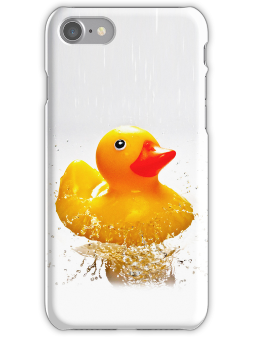 Duck! - iphone case by BlueShift