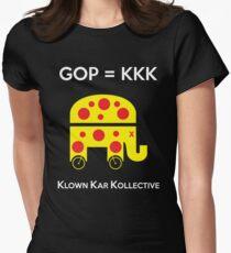 GOP -- KLOWN KAR KOLLECTIVE Womens Fitted T-Shirt