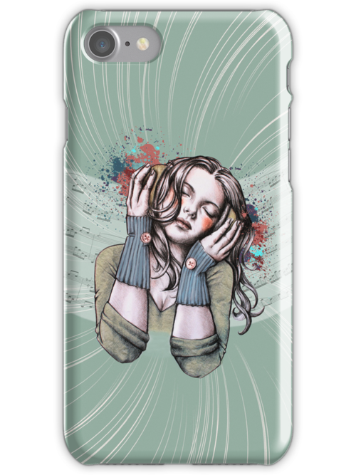 Feels Like the Wind Blows iPhone Case by Sarah  Mac