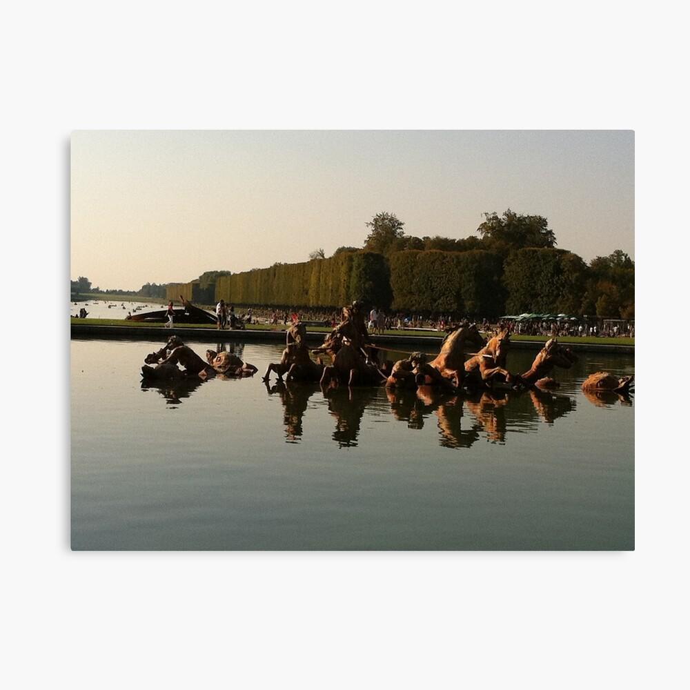 Versailles water 2 Canvas Print