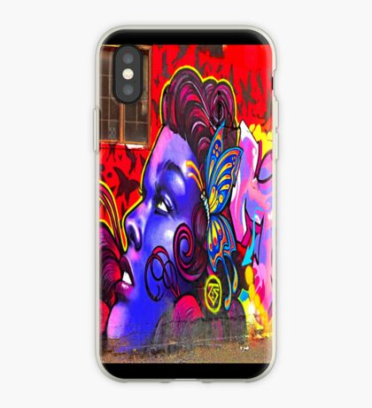 """""""Butterfly Girl"""" - phone iPhone Case"""