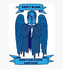 Weeping Angel of The Lord Photographic Print