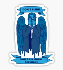 Weeping Angel of The Lord Sticker