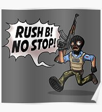 Rush B! No Stop! Poster